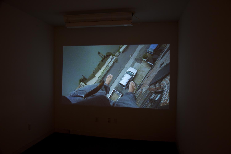 Isaac Brest  Sweaty Palms , 2012  59-minute film loop Dimensions variable