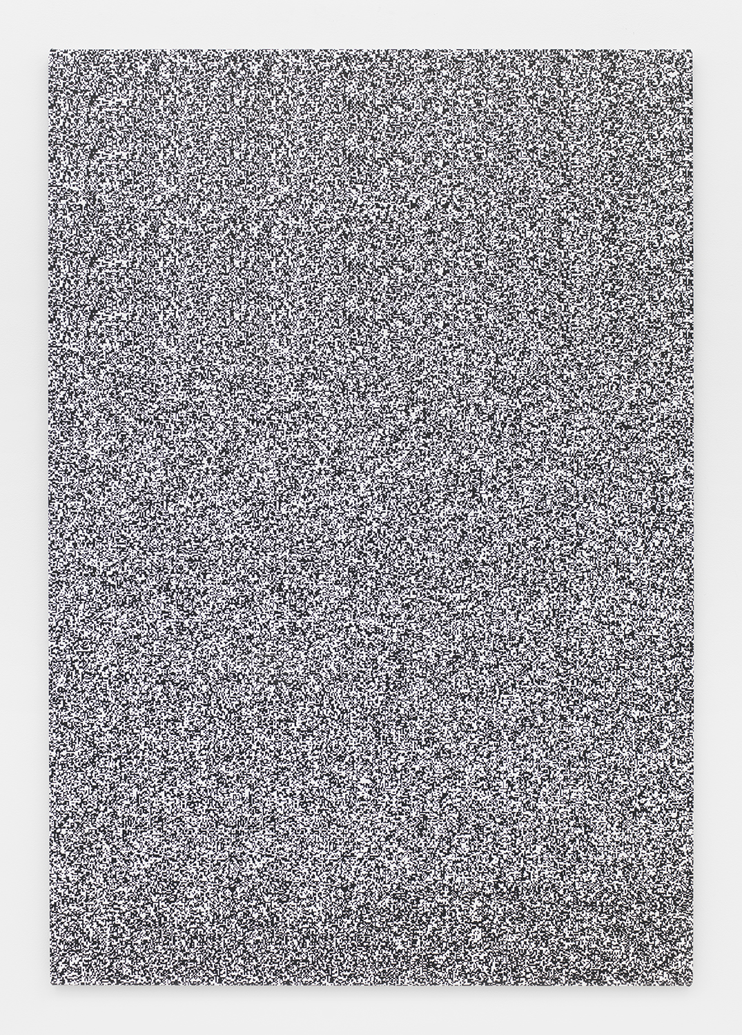 Haley Mellin  Untitled 095 , 2014 Ink, oil and gesso on canvas 64 x 44 inches