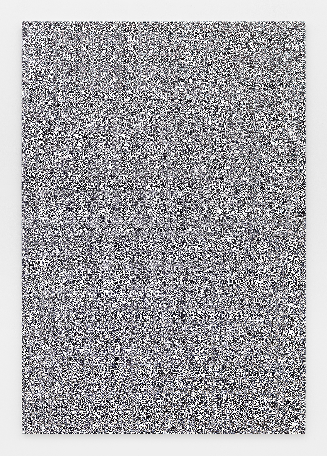 Haley Mellin  Untitled 096 , 2014 Ink, oil and gesso on canvas 64 x 44 inches