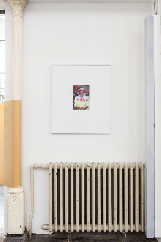 Louis Eisner  SEE WEBSTORE EBAY , 2013 Inkjet print in unique artist frame 29.5 x 25.5 inches