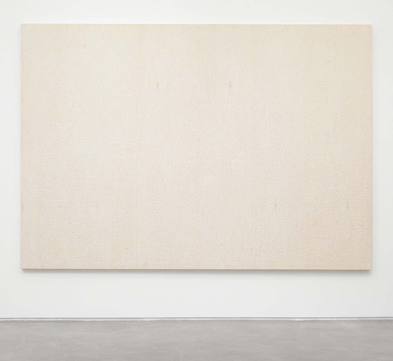 Da Bull ,2013 Surf wax on wood panel 120 x 84 inches