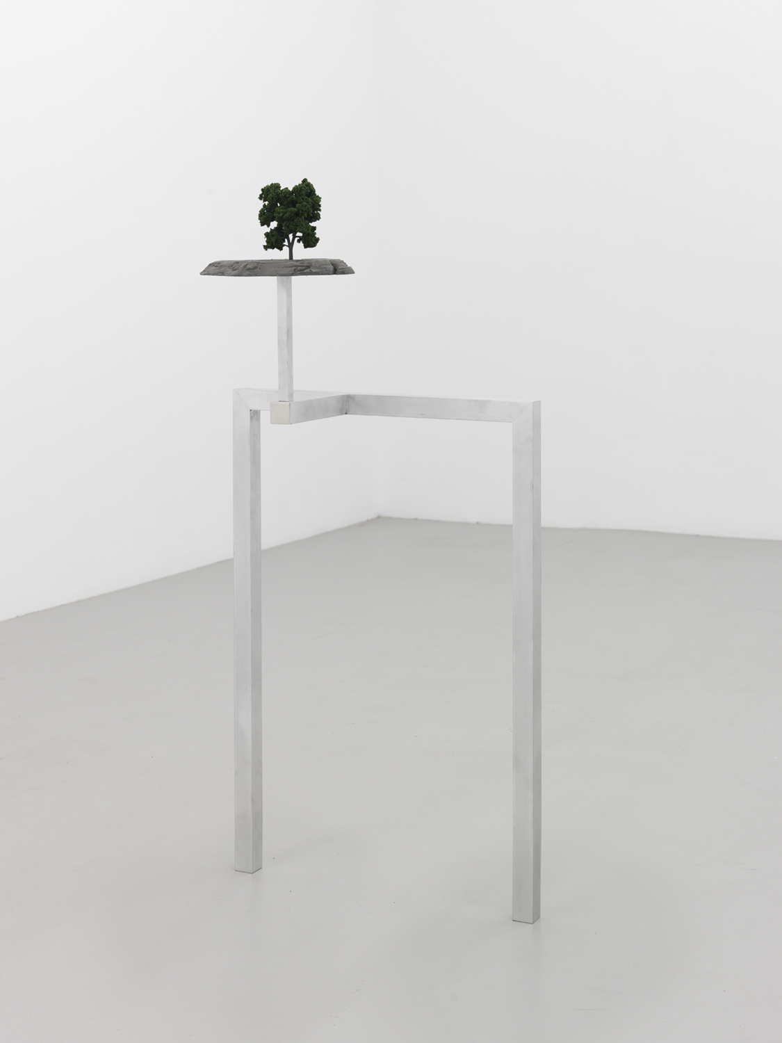 Proposal (Three Day Weekend) , 2015 Aluminum, foam, iron powder and plastic 50 x 24 x 14 inches