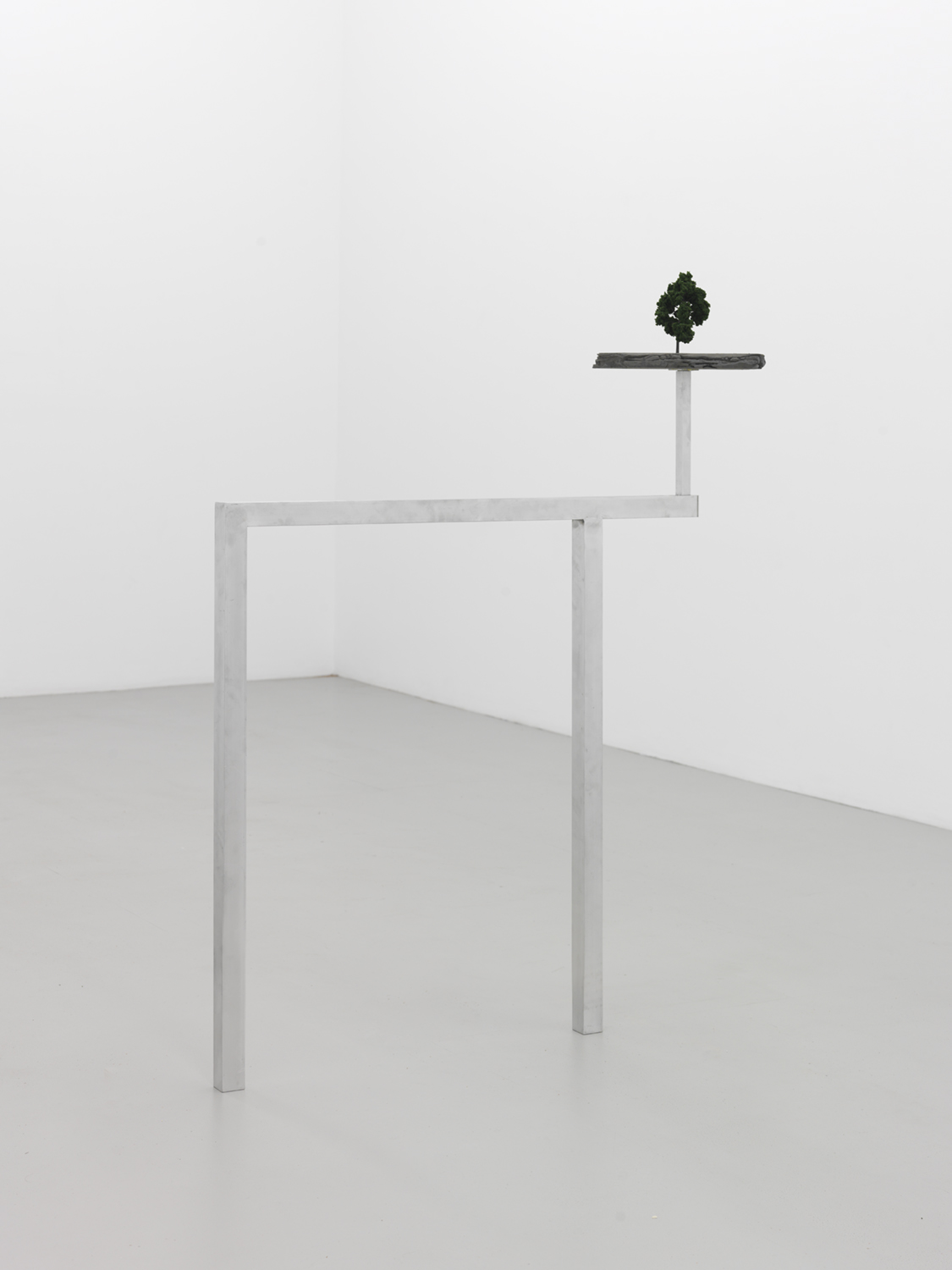 Proposal (Lets Get Out of The City) , 2015 Aluminum, foam, iron powder and plastic 50 x 42 x 2 inches