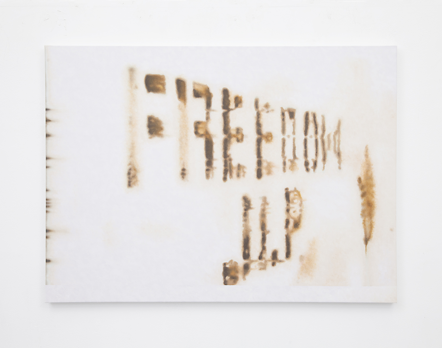 Freedom , 2015 Oil on linen 25 x 34.25 inches