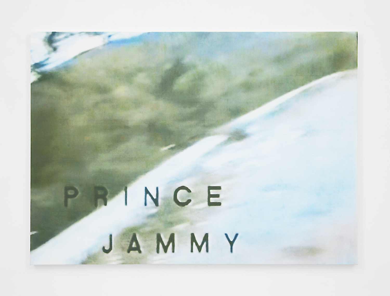 Prince Jammy , 2015 Oil on canvas 25.75 x 36 inches