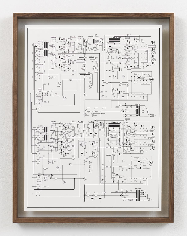 Echolette Cascade , 2015 Inkjet print in artist frame 33.75 x 25.75 inches