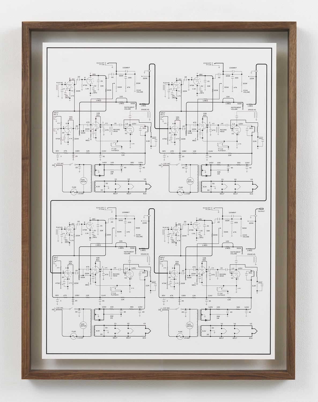 Echoplex Ep 1 Cascade , 2015 Inkjet print in artist frame 33.75 x 25.75 inches