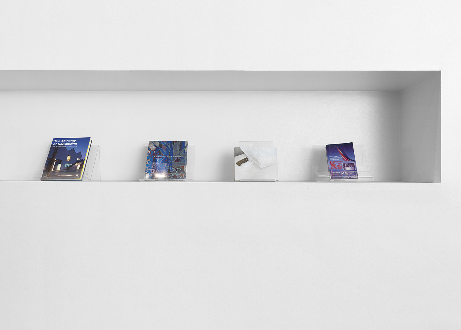 Installation view from  Read @ the Cooper Union Library