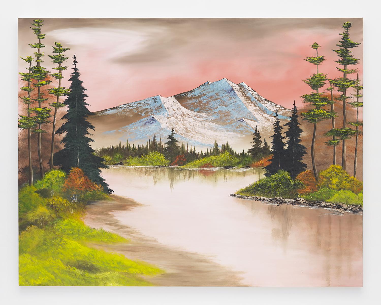 Autumn Fantasy , 2014  Oil on canvas  66 x 84 inches
