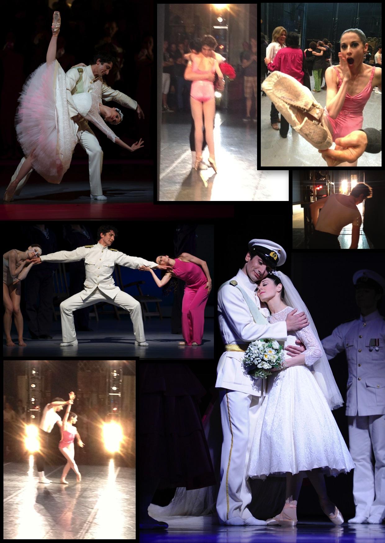 Partnerpictured: Vanessa Zahorian  Ballet/Choreographer: Neumeier's  The Little Mermaid ; Balanchine's  Symphony in Three Movements   Photographer: Erik Tomasson, Regina Bustillos, Ken Ryan