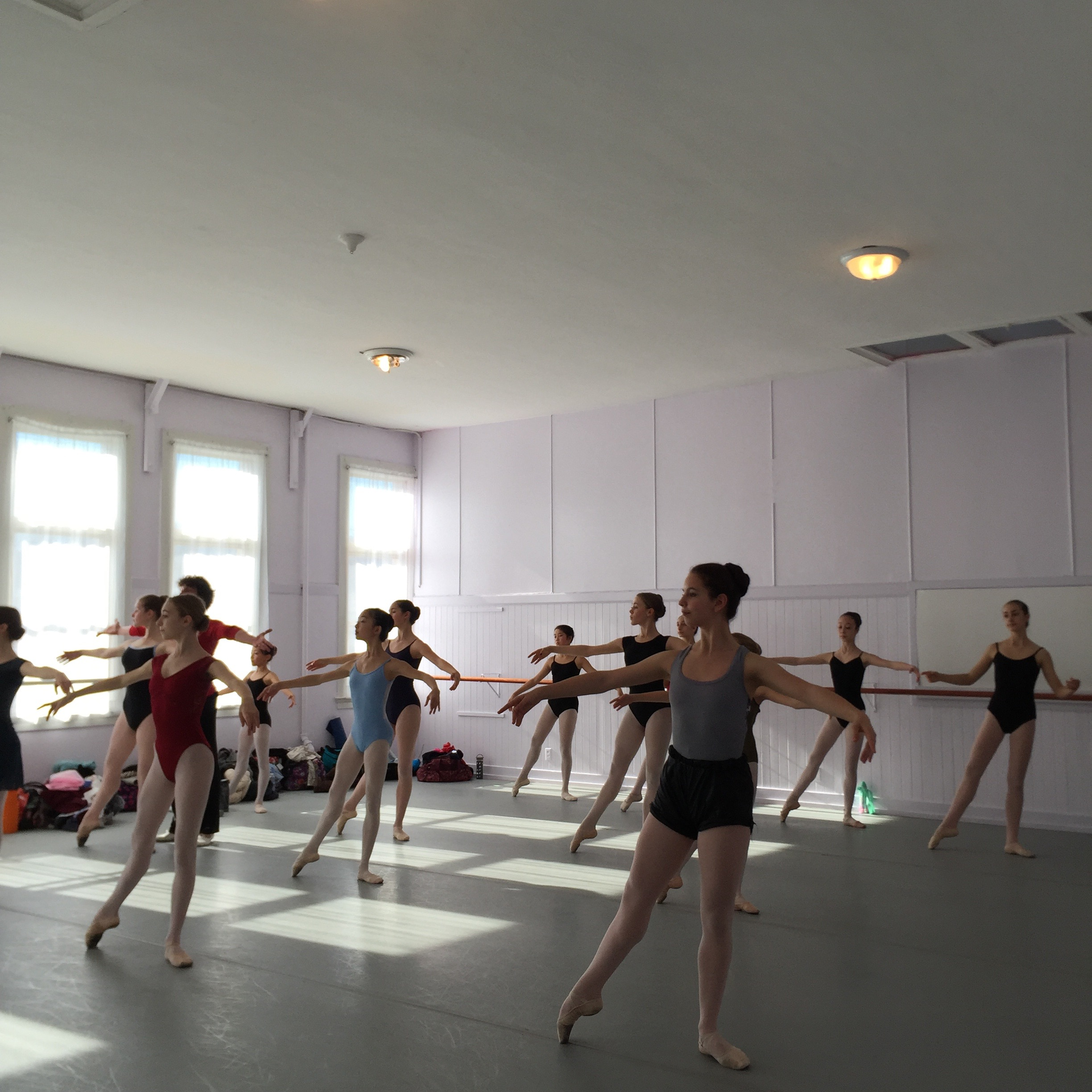 The French Sessions at Pascale Leroy Ballet enter, December 2015