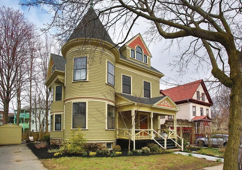 A glorious victorian on Toxteth Street in Brookline.