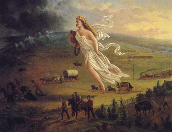 "John Gast, ""American Progress"", 1872"