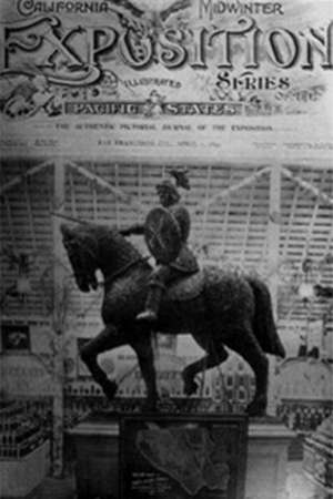 """""""The Prune Horse"""", Depicted on the cover of the """"Journal of the California Midwinter Exposition"""", 1894"""