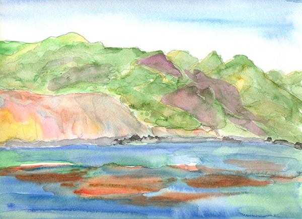 Watercolor   Hillary Mushkin