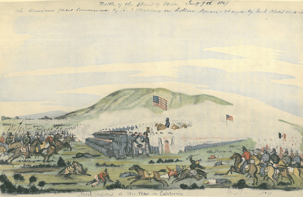 """William H. Meyers, """"The Decisive Battle of Los Angeles"""", 1847 