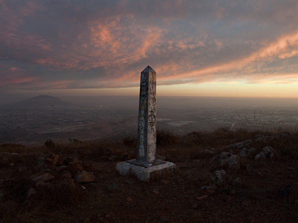Border Monument No. 251 - N32º33.383' W116º51.948', 2010 | Photo courtesy of David Taylor