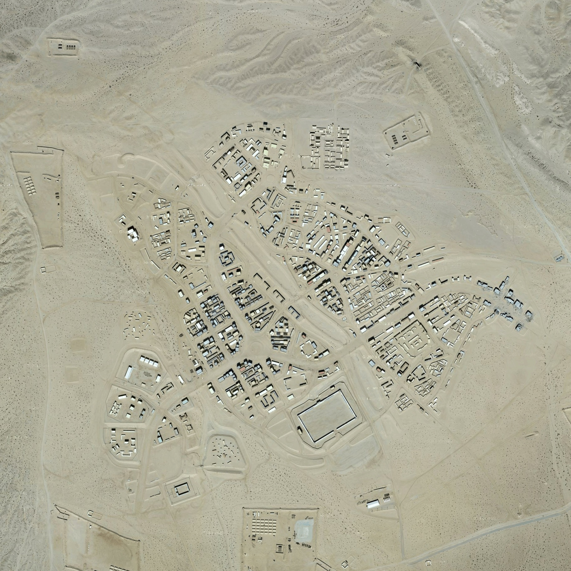 An aerial view of Range 220. |Photo Google Maps.