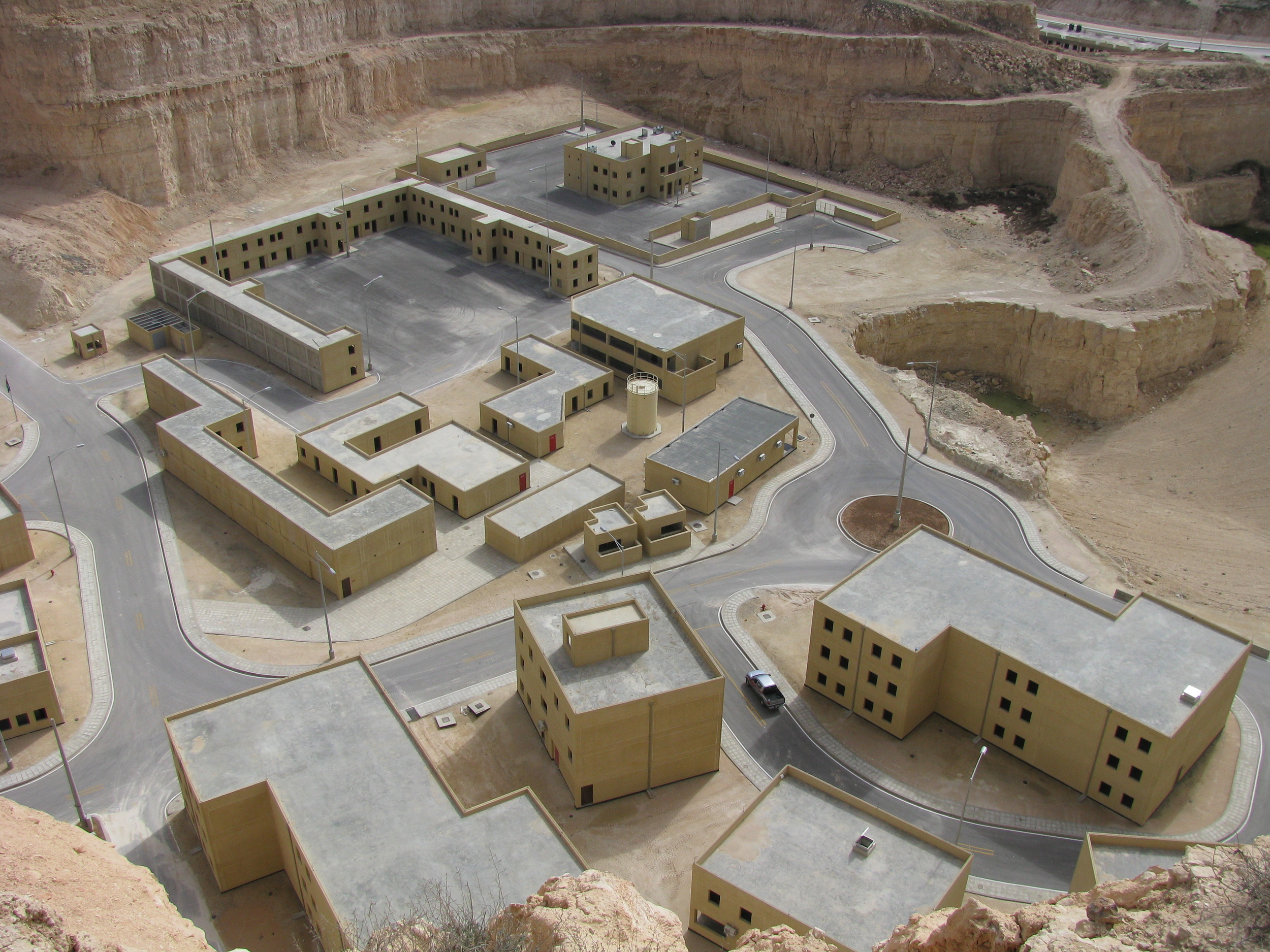 A section of the King Abdullah Special Operations Training Center in Jordan. Photo from General Dynamics Information Technology.