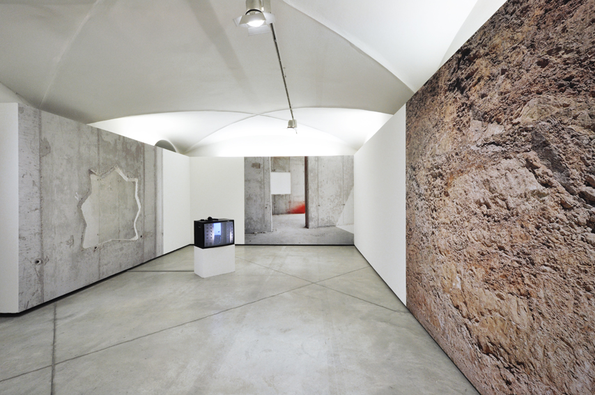 """Chicago  by artists Adam Broomberg and Oliver Chanarin. Exhibition view of """"Unstable Territory"""", CCC Strozzina, Palazzo Strozzi, Firenze, 2013 Photo copyright CCC Strozzina, Fondazione Palazzo Strozzi, Firenze Photo by Martino Margheri, 2013."""