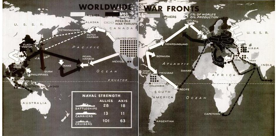 Figure 3 Whole Globe a Battlefield
