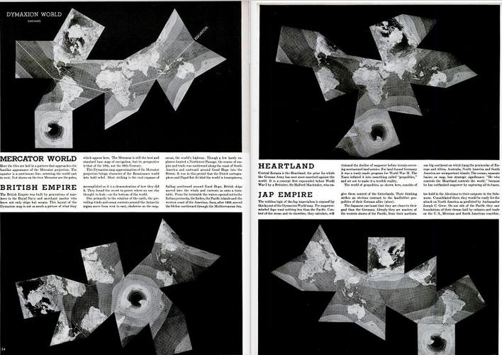 Figure 12 Dymaxion map