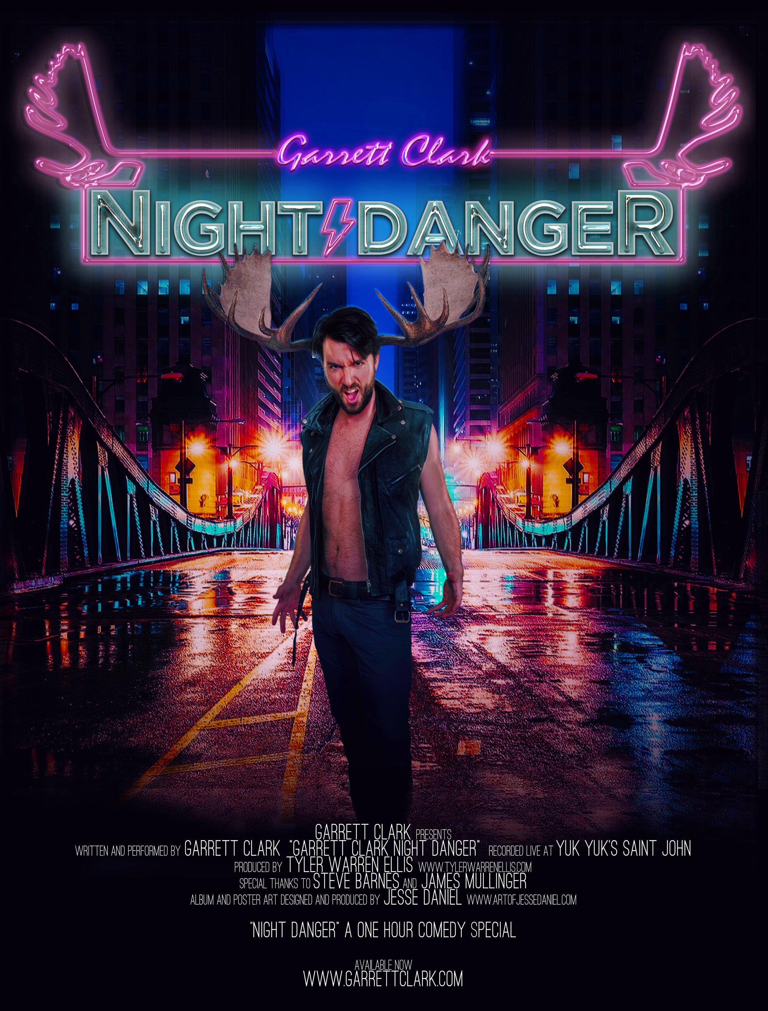 Night Danger Poster