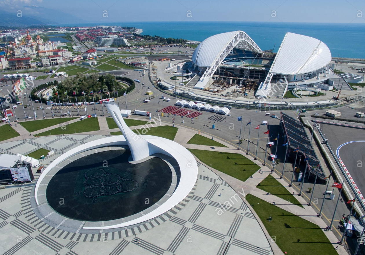 Olympic Stadium, Sochi   Semi-tropical sexting on the Black Sea. Bring suntan lotion and a bathing suit.