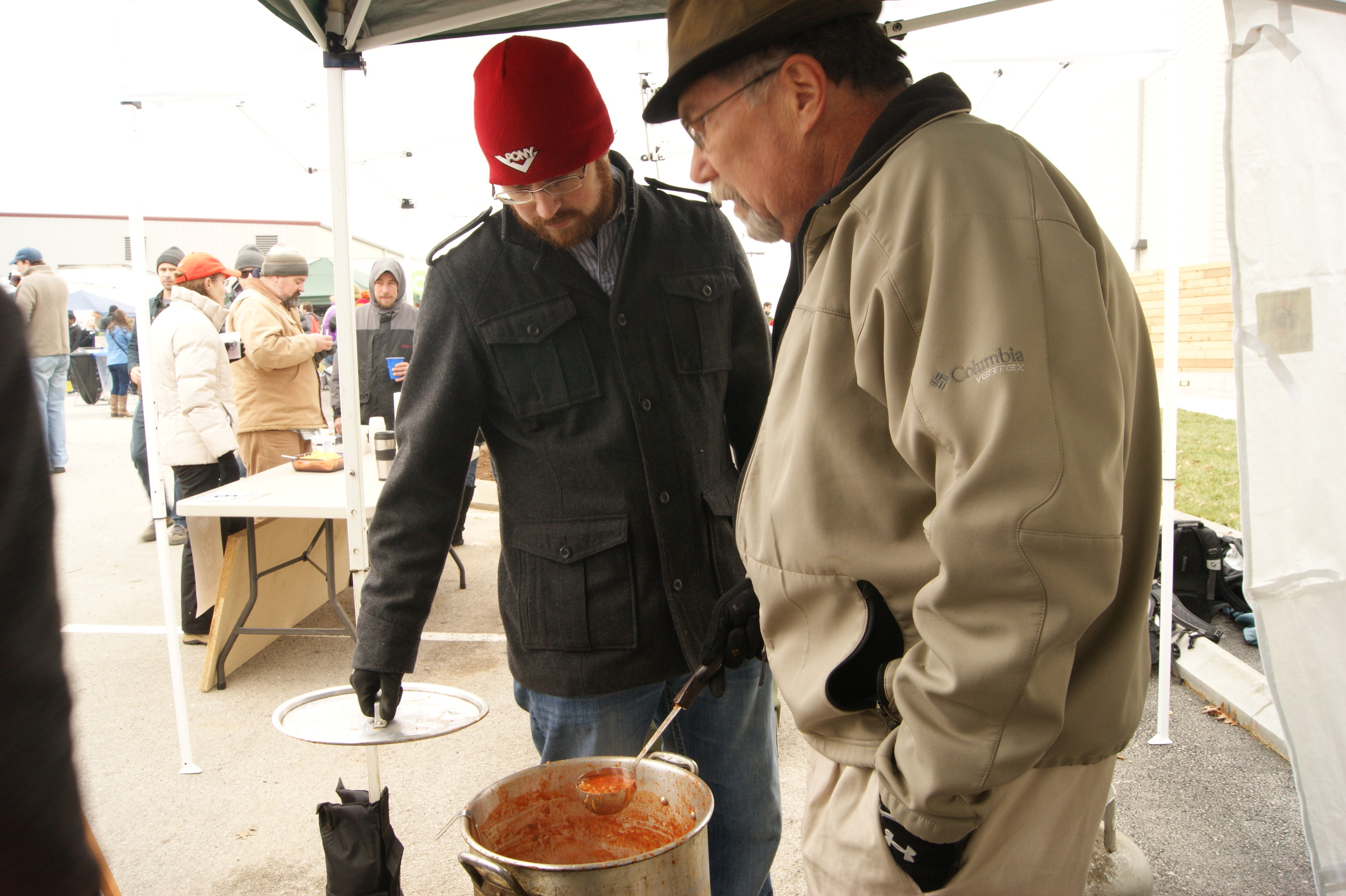 """Mr. Holder a.k.a. """"Walter White"""" cooking our chili!"""