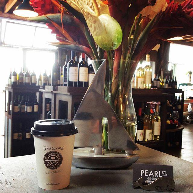 But first, Coffee! Start your day off right! #laguna #lagunabeach #coffee #freshlybrewed #generalstore #pearlstreet #pearlstreetdistrict #localstore