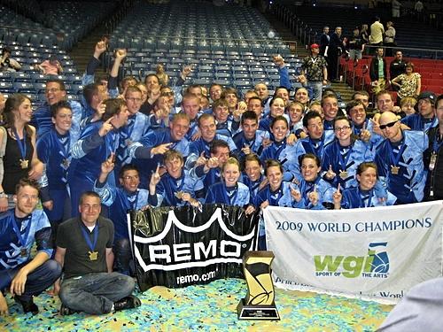 Rhythm X 2009 - WGI World Champions