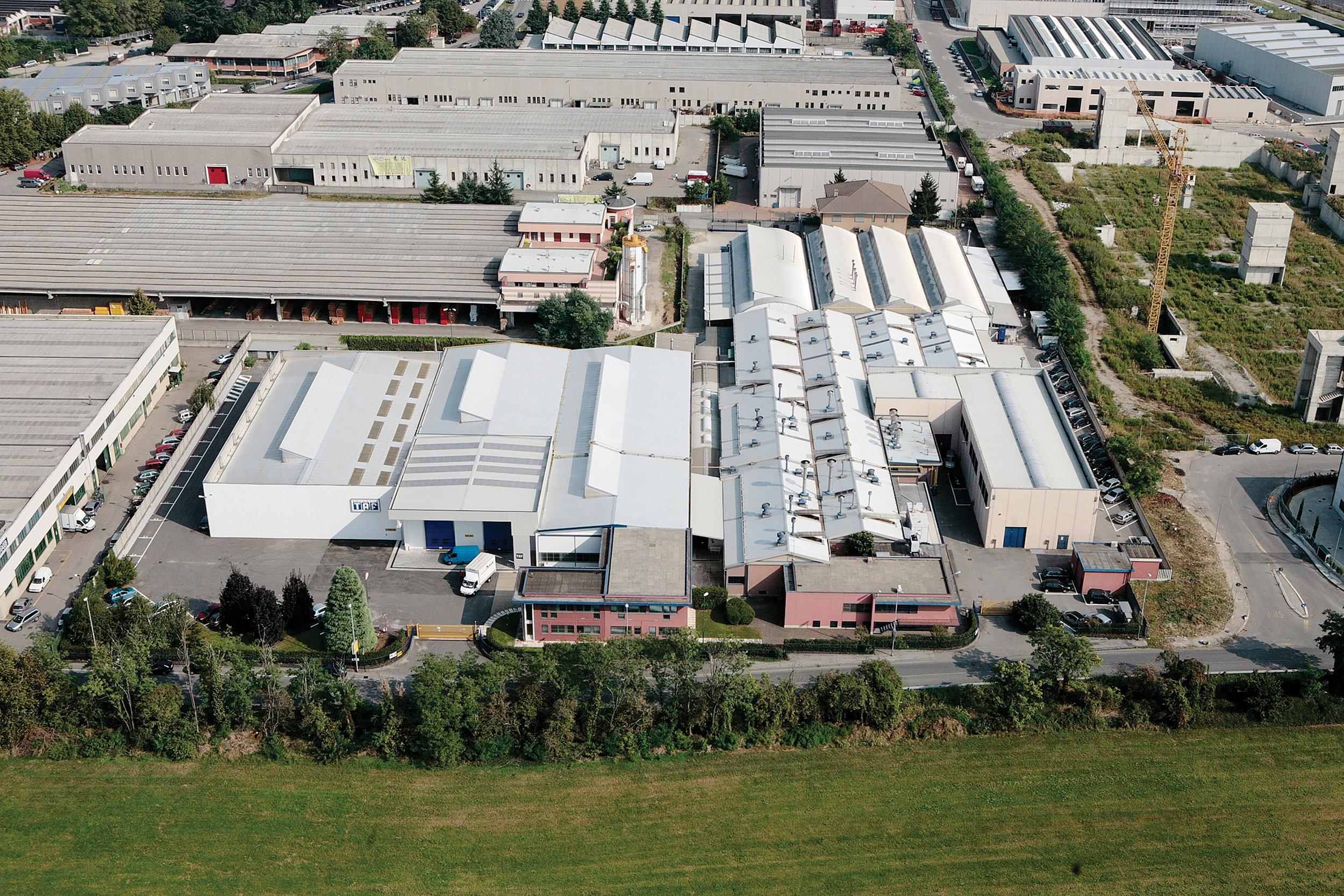 TAF Abrasivi Facility, Italy