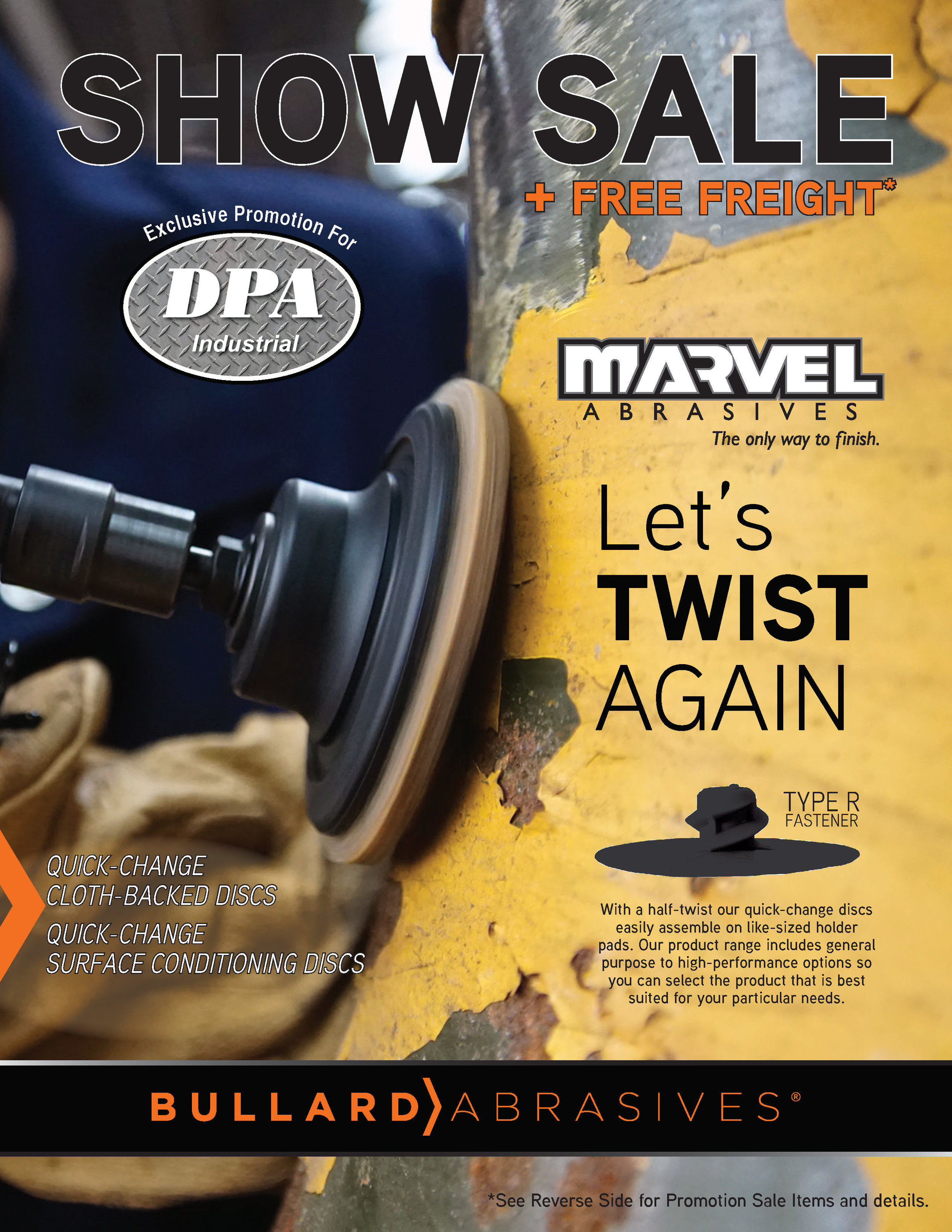 Let's TWIST AGAIN - EXCLUSIVE PROMOTION FOR DPA INDUSTRIALApril 17, 2019 through June 21, 2019CODE: SHOW