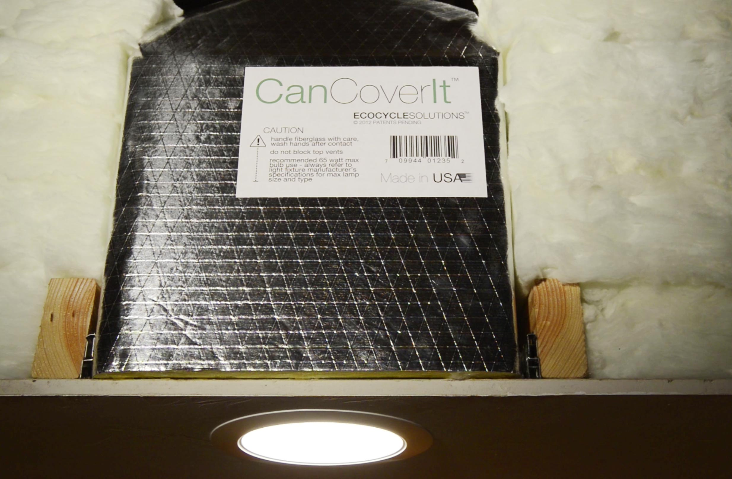 CanCoverIt solves all can-light energy transfer - reduces bills in half and improves comfort!