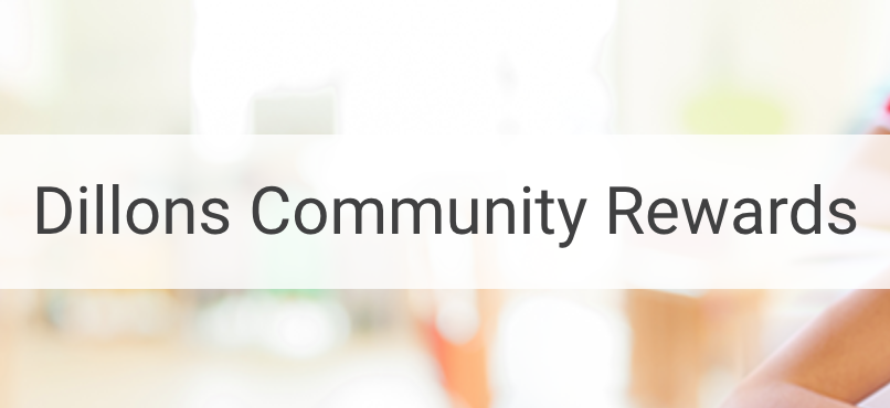 Dillons is committed to helping our communities grow and prosper. Dillons Community Rewards makes fund-raising easy. All you have to do is shop at Dillons and swipe your Plus Shopper's Card!