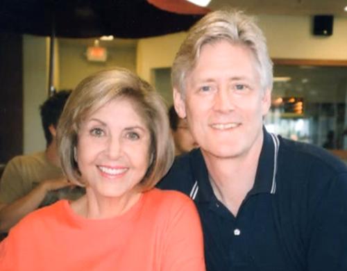 Gloria Pennington and her husband Tom Heany.