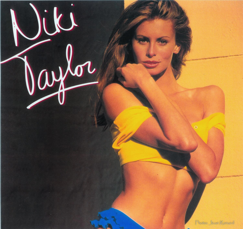 First Niki Taylor Calendar