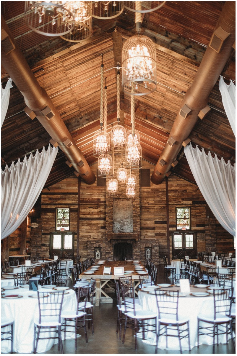 Perfect mix of rustic/chic