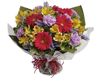 Example image of a bouquet  Pictured Code : B015 $90.00