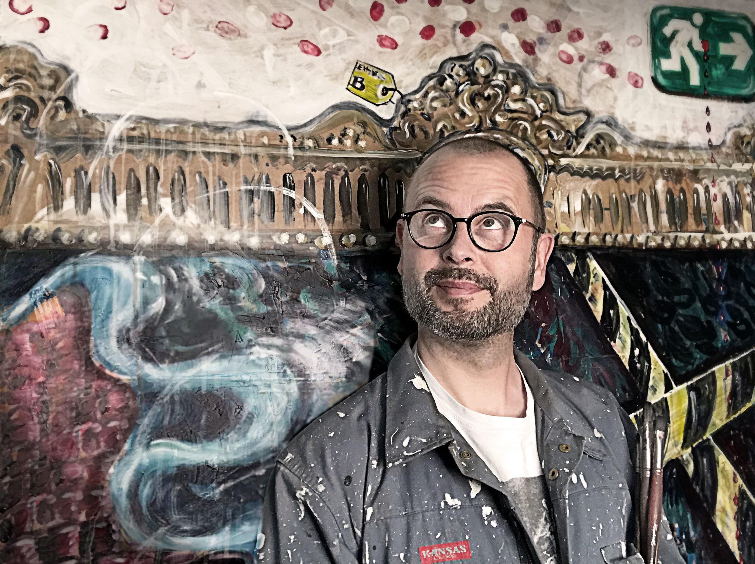 Casper Sølberg is a danish painter and art photographer. Born in 1970.
