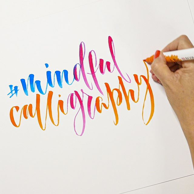 Bringing a moment of peace and relaxation through the picking up of a pen.  Immerse yourself in mind-absorbing modern calligraphy with our 16 page beginner's guide FREE in the Mail on Sunday, this Sunday 16th June. #mindfulcalligraphy. . . . . #mailonsunday #guidetocalligraphy2019 #moderncalligraphy #calligraphylove #lovelettering #calligraphycommunity #modernscript #moderncalligrapher #metime #calligraphydaily #calligraphynews #letteringpractice #calligraphyuk #penandink #calledtobecreative #seekinspirecreate #abeautifulmess #bespokecalligraphy #prettycreativestyle #brushlettering #handlettering #freestylecreativeliving #workshop #perfectlyimperfect #lettering  #calligraphyvideo #typelover #typography #typographyart