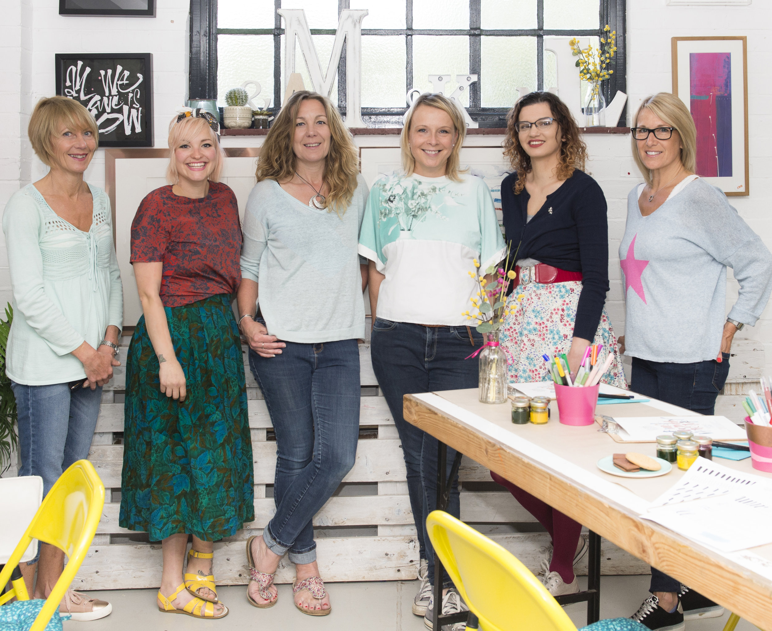 The team at The Modern Calligraphy Company