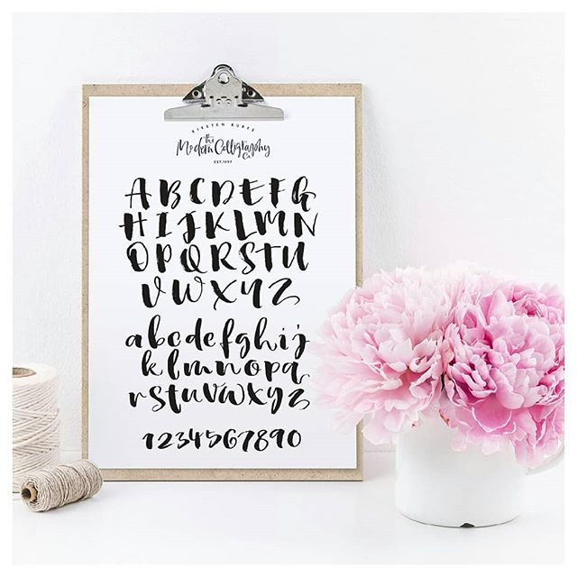 One of the main reasons we love Calligraphy is that it really is an affordable hobby, that everyone can try.  Over on our website we have templates to download for just £1, our Inspirations Greeting Sheet and the Brush Pen Alphabet.  Perfect for when you have 15 minutes in the day to sit down with a cup of tea and focus on your breathing and brush strokes. #Mindfulcalligraphy  Have you used templates before?  Which ones worked well for you? . . . . . #Inspire #Create #Mindfulcalligraphy #kirstenburke #calligraphylove #lovelettering #calligraphycommunity #modernscript #moderncalligrapher #metime #calligraphydaily #calligraphynews #letteringpractice #calligraphyuk #penandink #alittlebeautyeveryday #calledtobecreative #seekinspirecreate #abeautifulmess