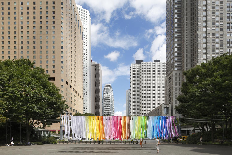 100 colors / 新宿中央公園