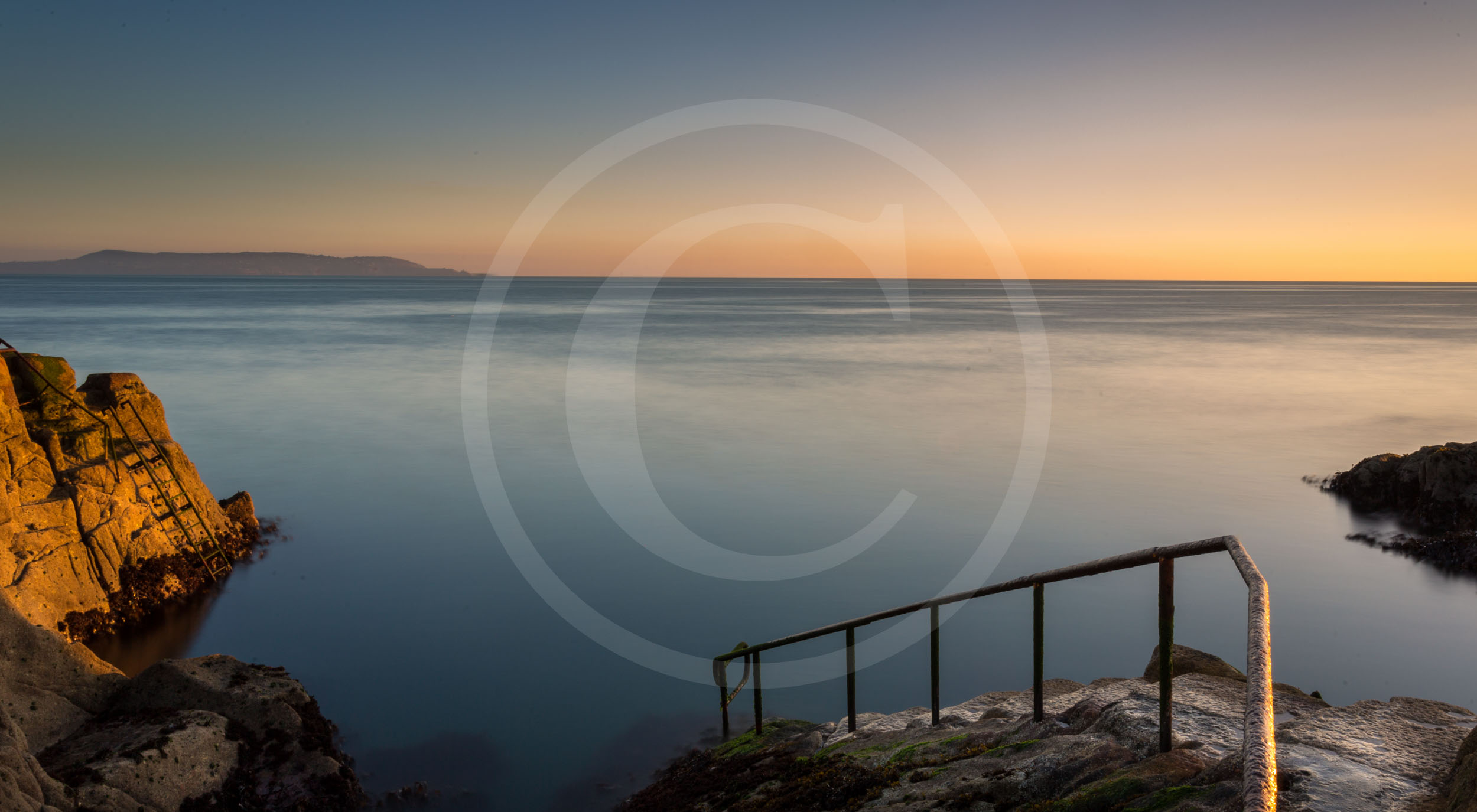 Sunrise at the Forty Foot, Dublin