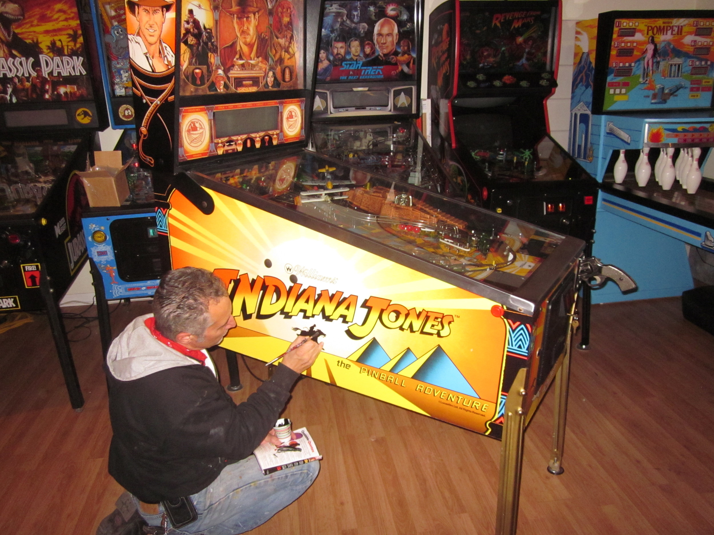 Arcades At Home - Chicago Area Pinball Repair