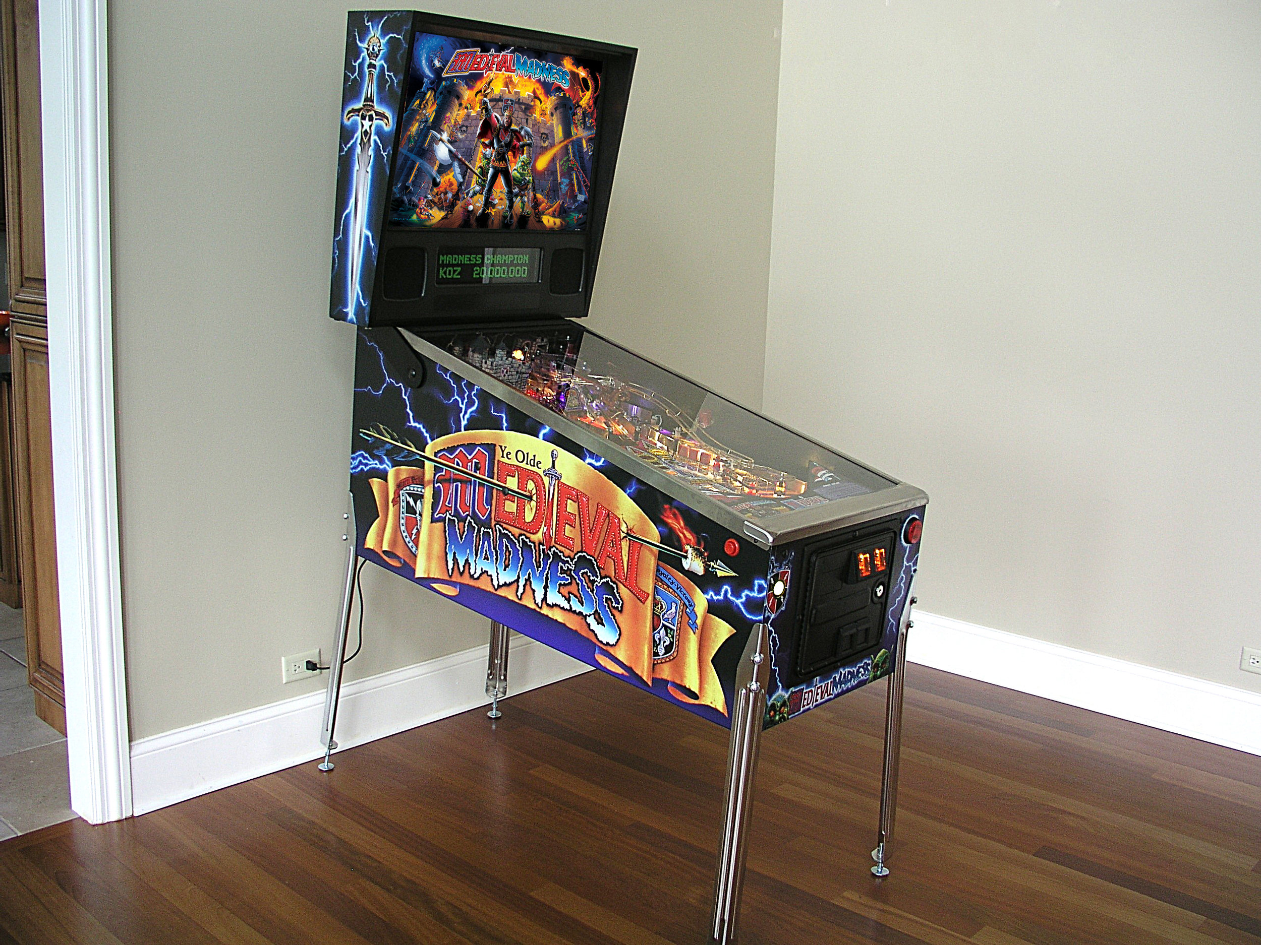 2016 Medieval Madness For Sale — Arcades At Home - Chicago