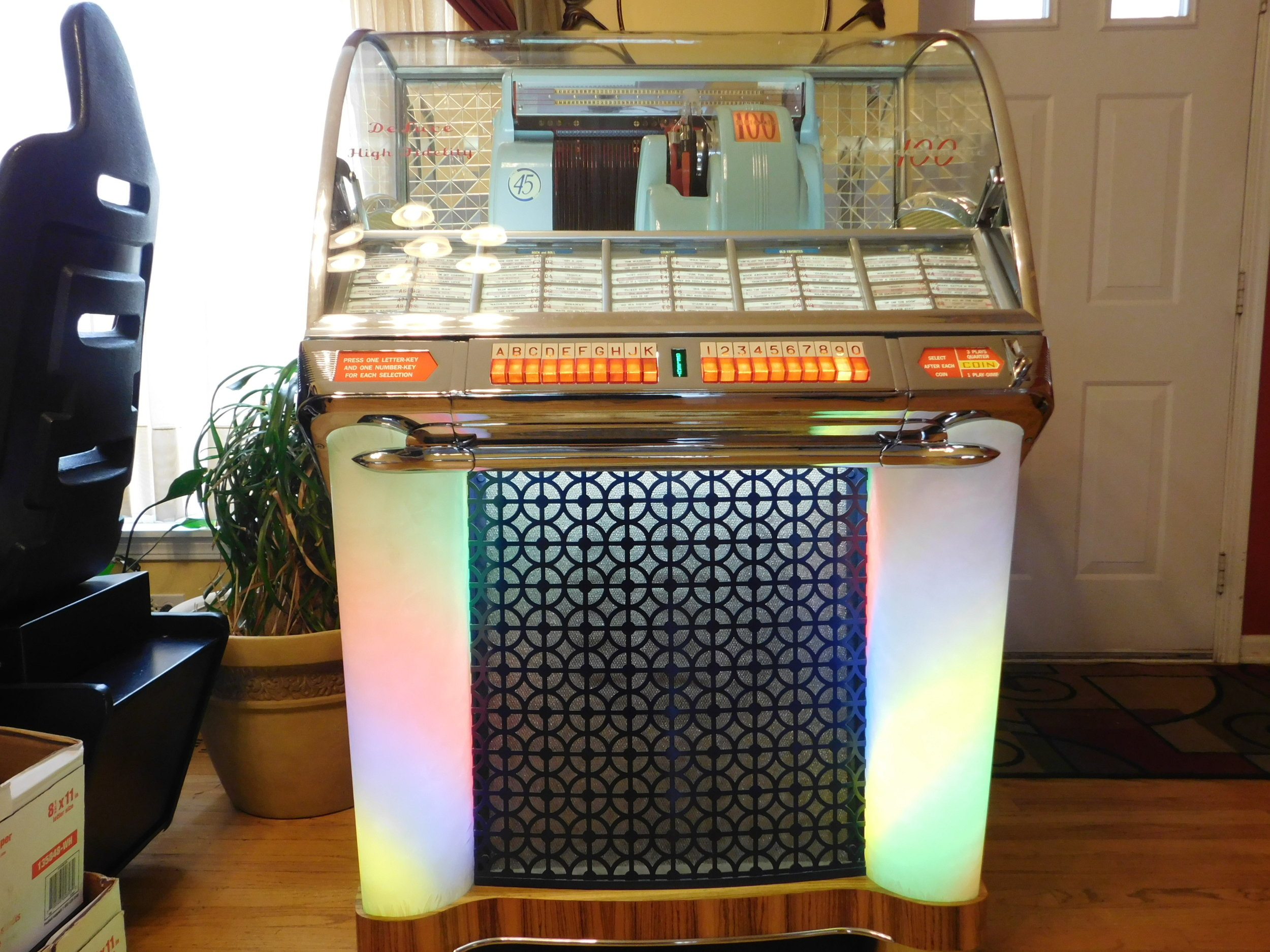 1953 Seeburg HF100G — Arcades At Home - Chicago Area Pinball