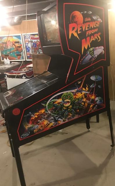 Revenge From Mars — Arcades At Home - Chicago Area Pinball