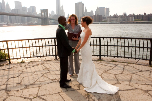 DUMBO Wedding vtceremony